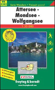 Obrázok 5282 Attersee, Mondsee, Wolfgangsee 1:35 000