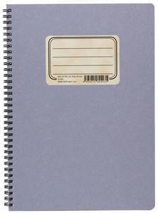 Obrázok Kroužkový blok RETRO A4, čistý, 50 listů
