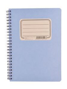 Obrázok Kroužkový blok RETRO A5, čistý, 50 listů