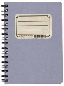 Obrázok Kroužkový blok RETRO A6, čistý, 50 listů