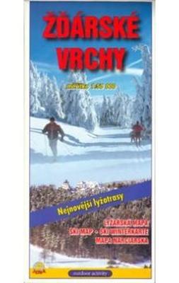 Obrázok Žďarské vrchy 1:50 000 lyžařská mapa