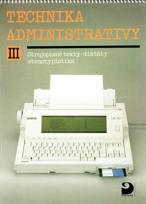 Obrázok Technika administrativy III