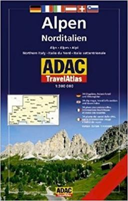 Obrázok Alpy Severní Itálie 1: 300 000