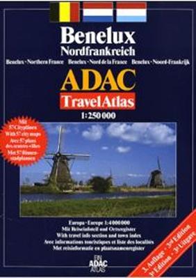 Obrázok Benelux Severní Francie 1: 250 000