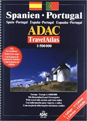 Obrázok Španělsko Portugalsko 1: 500 000