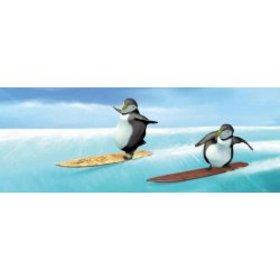 ABC Develop Záložka Úžaska Tučňáčci na snowboardu
