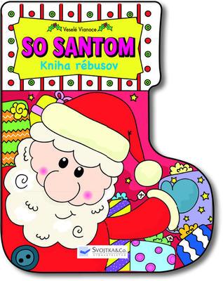 Obrázok Veselé Vianoce so Santom - Kniha rébusov