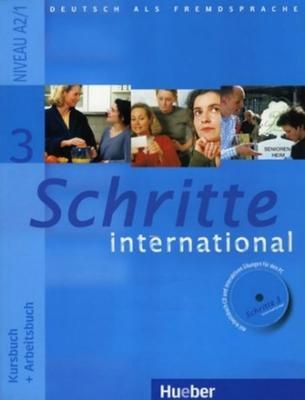 Obrázok Schritte International 3 Paket Kursbuch + Arbeitsbuch mit Audio-CD + Gloss.