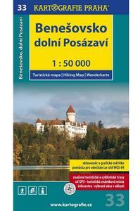 Obrázok Benešovsko Dolní Posázaví 1:50 000