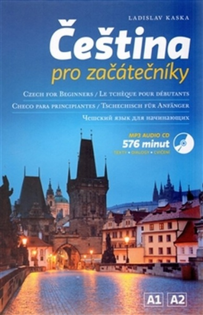 Čeština pro začátečníky + CD - Ladislav Kaska