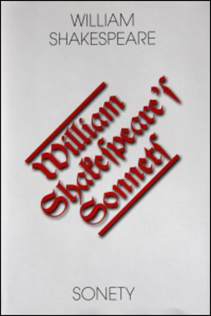 Sonety/Sonnets - William Shakespeare