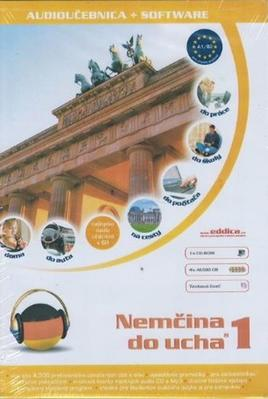 Obrázok Nemčina do ucha 1. diel+ 2. diel