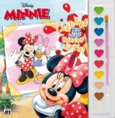 Obrázok Vymaľ s farbami Minnie