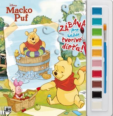 Obrázok Vymaľ s farbami Macko Puf