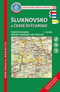 Obrázok KČT 13 Šluknovsko a České Švýcarsko 1:50 000