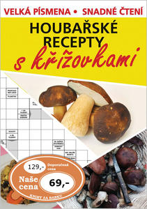 Obrázok Houbařské recepty s křížovkami