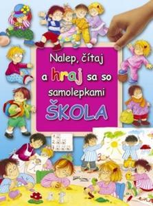 Obrázok Nalep, čítaj a hraj sa so samolepkami Škola
