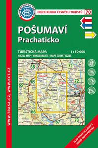 KČT 70 Pošumaví, Prachaticko 1:50 000