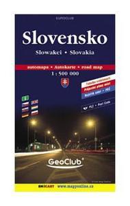 Obrázok Slovensko 1:500T měkká
