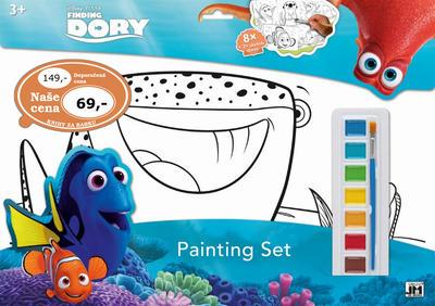 Obrázok Hledá se Dory omalovánka