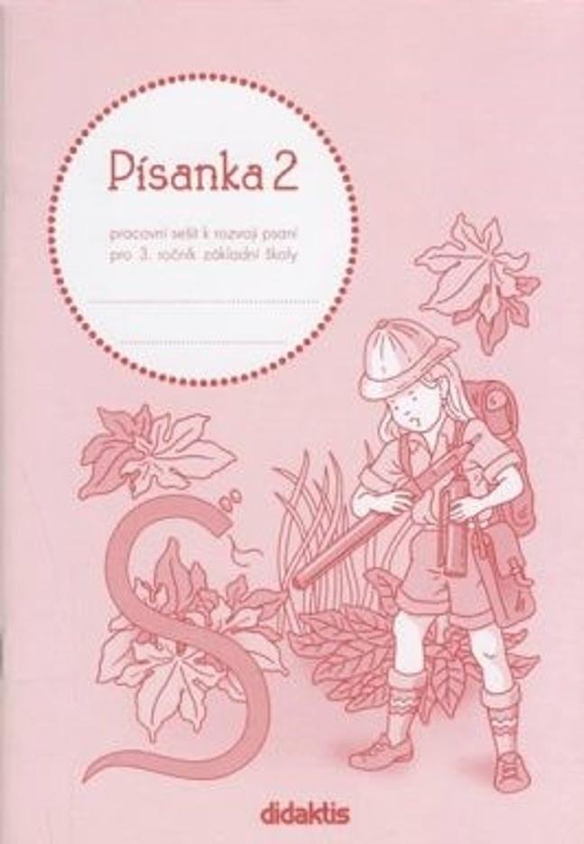 Písanka 2 pro 3. ročník základní školy - Jitka Halasová