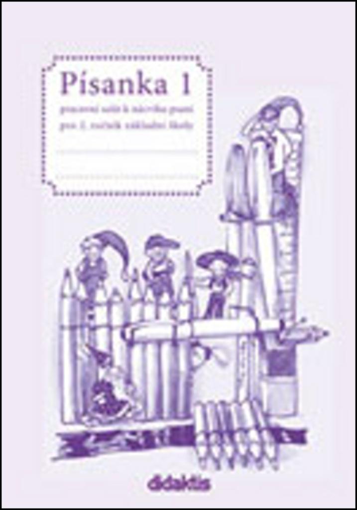 Písanka 1 pro 2. ročník základní školy - Jitka Halasová