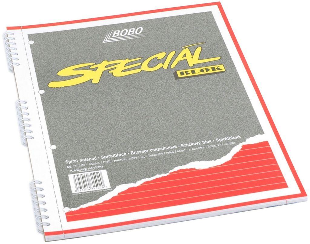 Speciál blok A4, linka, 50 listů