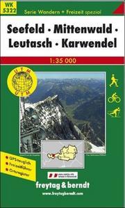 Obrázok 5322 Seefeld-Mittenwald 1:35 000