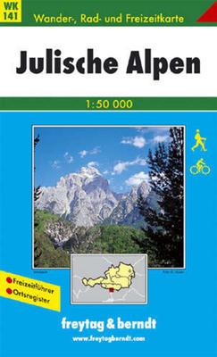 Obrázok 141 Julské Alpy 1:50 000