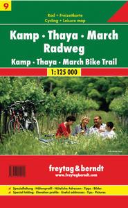 Obrázok Cyklomapa Kamp-Thaya-March Radweg 1:125 000