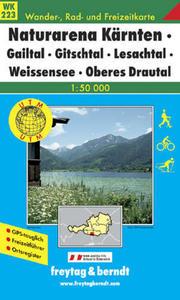 Obrázok 223 Weissensee-Gailtal 1:50 000