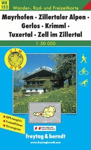 Obrázok 152 Mayrhofen 1:50 000