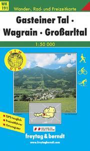 Obrázok 191 Gasteiner Tal 1:50 000