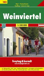 Obrázok Cyklomapa Weinviertel 1:100 000