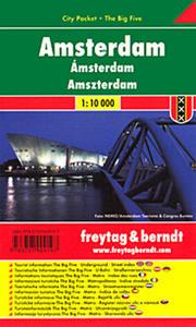 Obrázok Plán města Amsterdam 1:10 000