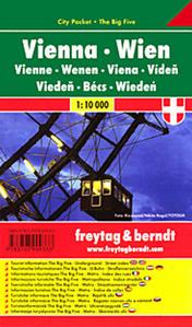Obrázok Plán města Vídeň 1:10 000