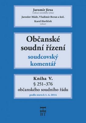 Občanské soudní řízení Kniha V.