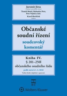 Občanské soudní řízení Kniha IV.