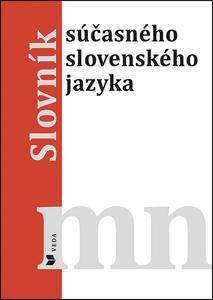 Obrázok Slovník súčasného slovenského jazyka mn