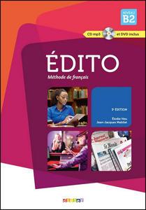 Obrázok Édito Niveau B2 Učebnice