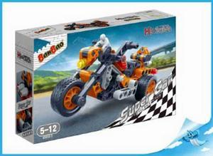 Obrázok BanBao stavebnice Hi-Tech Super Cars motorka