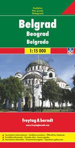 Obrázok Bělehrad Belgrad 1:15 000