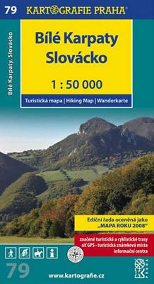 Obrázok Bílé Karpaty 1:50 000