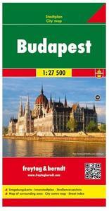 Obrázok Budapešť 1:27 500