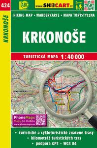 Obrázok Krkonoše 1:40 000