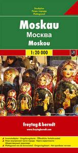 Obrázok Moskva 1:20 000