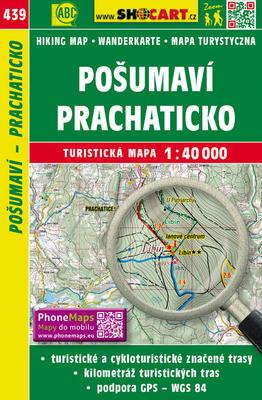 Obrázok Pošumaví, Prachaticko 1:40 000