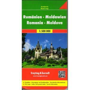 Obrázok Automapa Rumunsko, Moldavsko 1:500 000