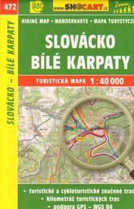 Obrázok Slovácko, Bílé Karpaty 1:40 000