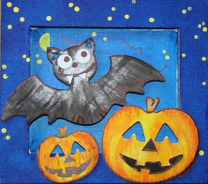 Obrázok Rám malý Halloween